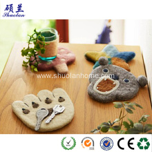 Home decoration new design felt mat